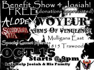 Benefit Show - October 15th
