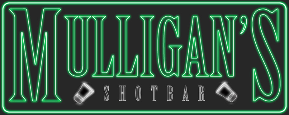 Mulligan's Shot Bar - Large Logo